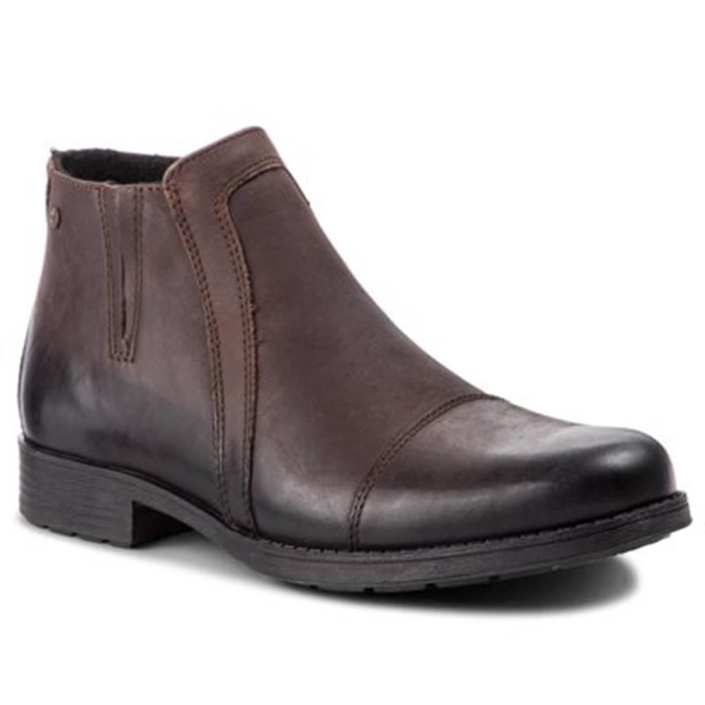 Lasocki for men Členkové topánky  MB-PRADO-02 nubuk,koža(useň) lícová