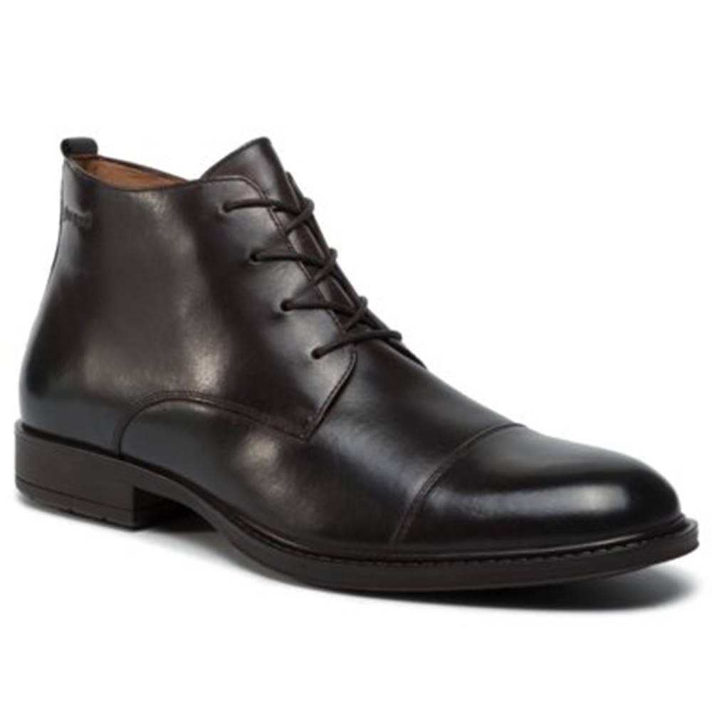 Gino Rossi Šnurovacia obuv Gino Rossi MI08-C401-440-06 Prírodná koža(useň) - Lícova