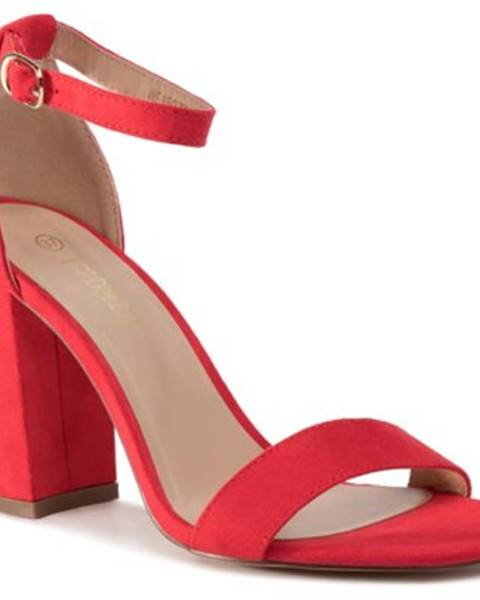 Červené sandále DeeZee