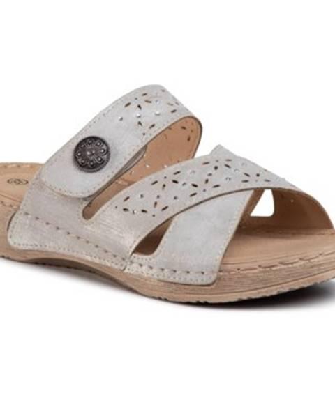 Šedé topánky Clara Barson