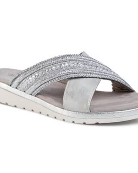 Strieborné topánky Jenny Fairy