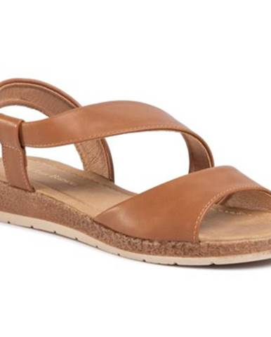 Camel sandále Clara Barson