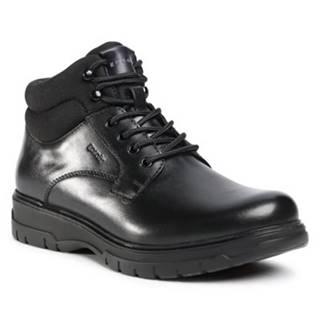 Šnurovacia obuv  MI07-B12-A841-01 Materiał tekstylny,koža(useň) lícová