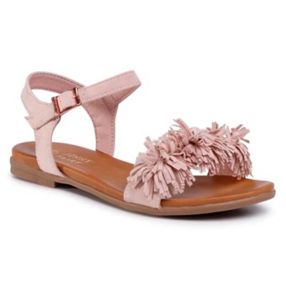 Jenny Fairy Sandále  WS5077-05 Materiał tekstylny
