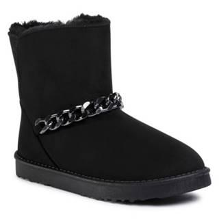 Členkové topánky Jenny Fairy WSA20234-03 Materiał tekstylny