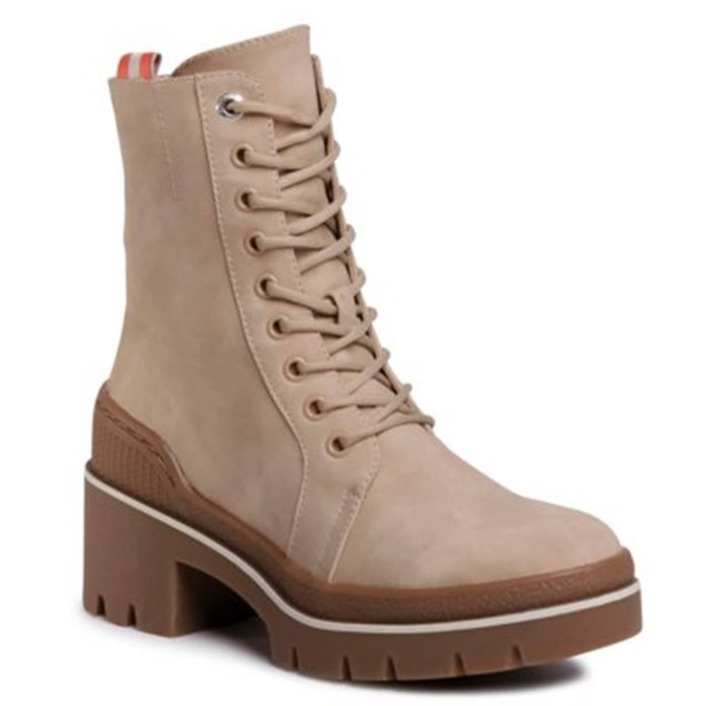 Jenny Fairy Šnurovacia obuv  WS5205-01 koža ekologická