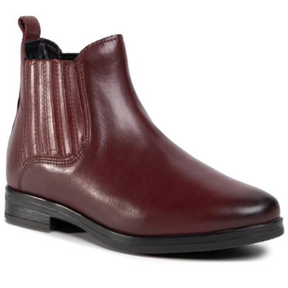 Lasocki Členkové topánky  OCE-NELA-01 koža(useň) lícová