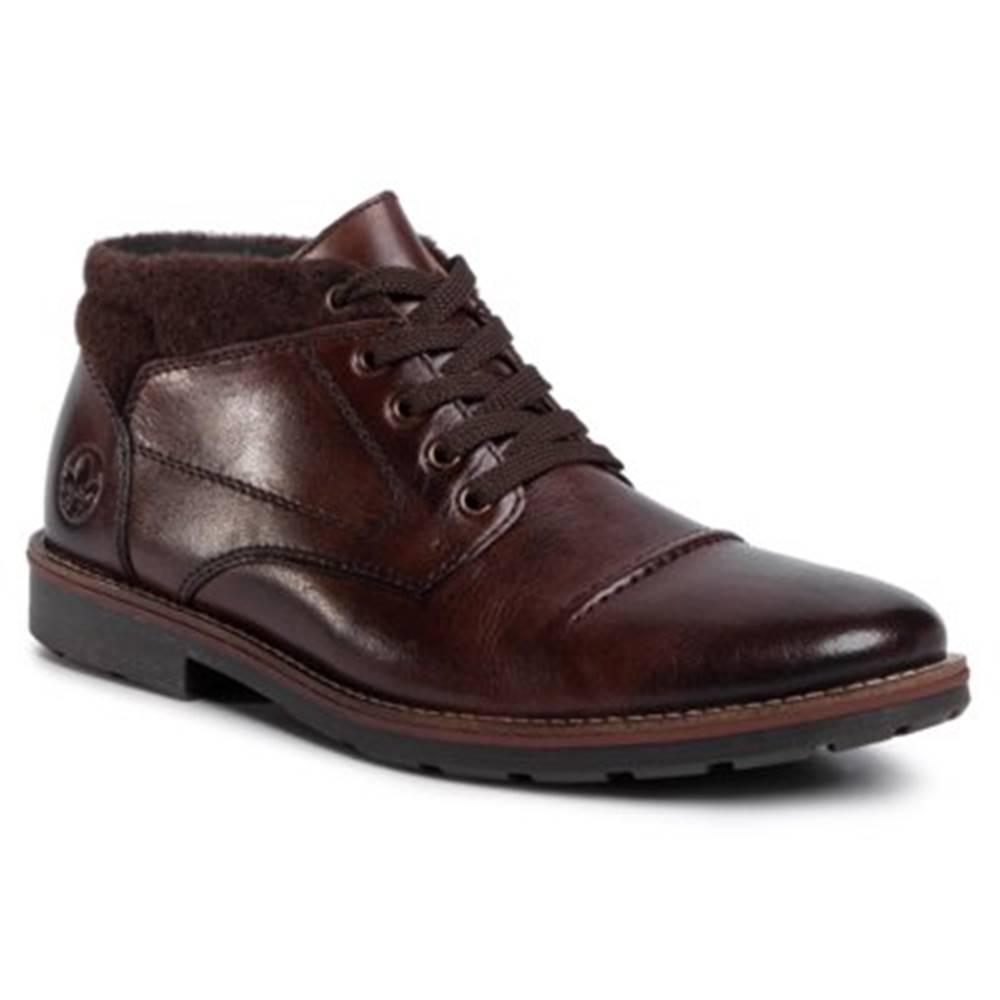 Rieker Členkové topánky Rieker 15330-25 Materiał tekstylny,koža(useň) lícová