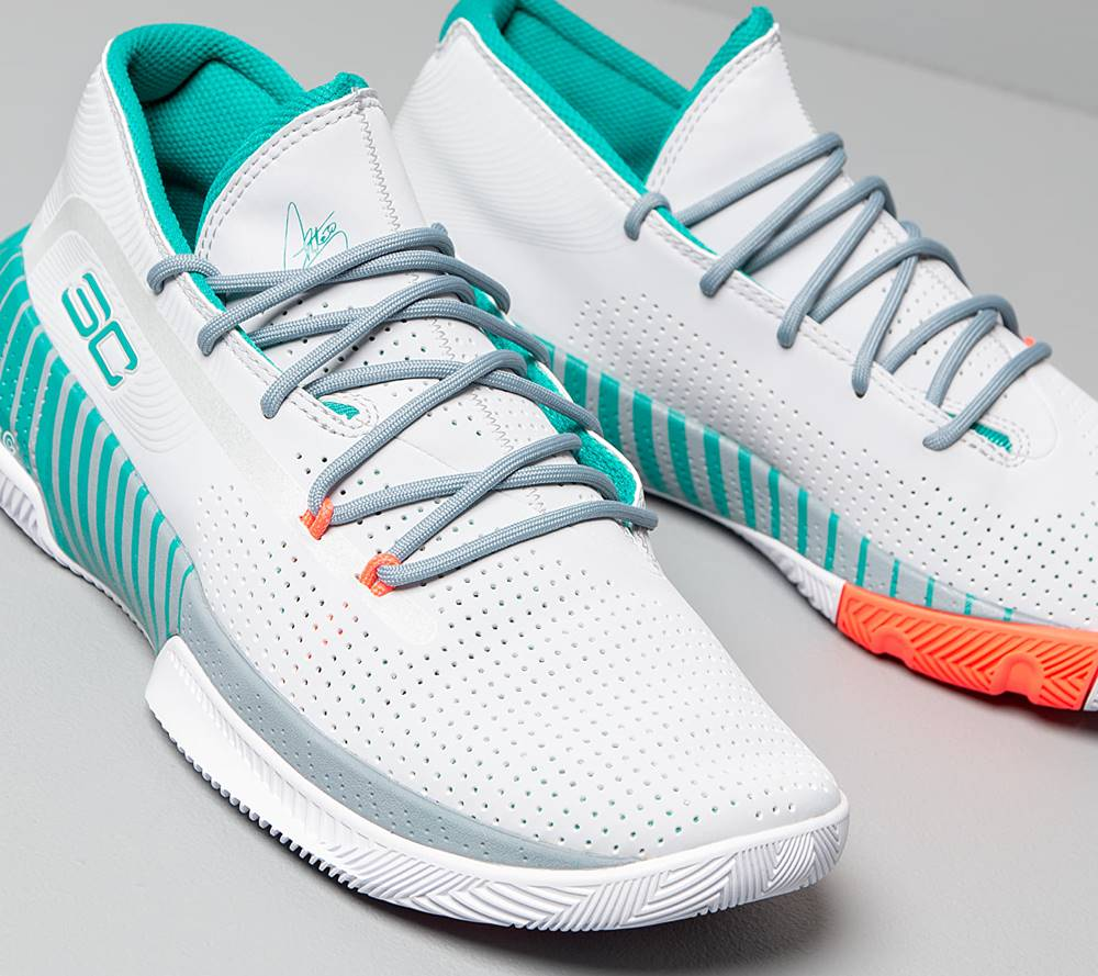 Under Armour Under Armour SC 3ZER0 III Halo Gray/ Ash Gray/ Teal Rush