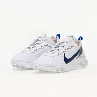 Nike React Element 55 White/ Midnight Navy