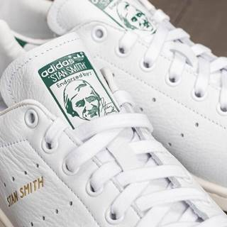 adidas Stan Smith Ftw White/ Ftw White/ Collegiate Green