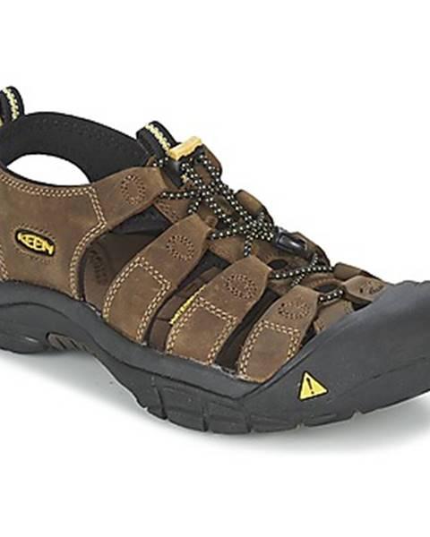 Hnedé športové sandále Keen