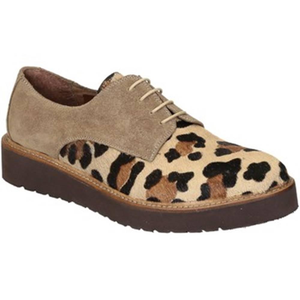 Leonardo Shoes Derbie  840-69 PE CAVALLINO MB