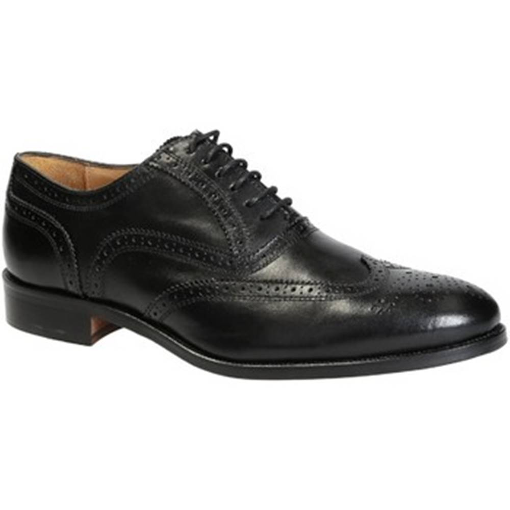 Leonardo Shoes Derbie Leonardo Shoes  06650/FORMA 40 NAIROBI NERO