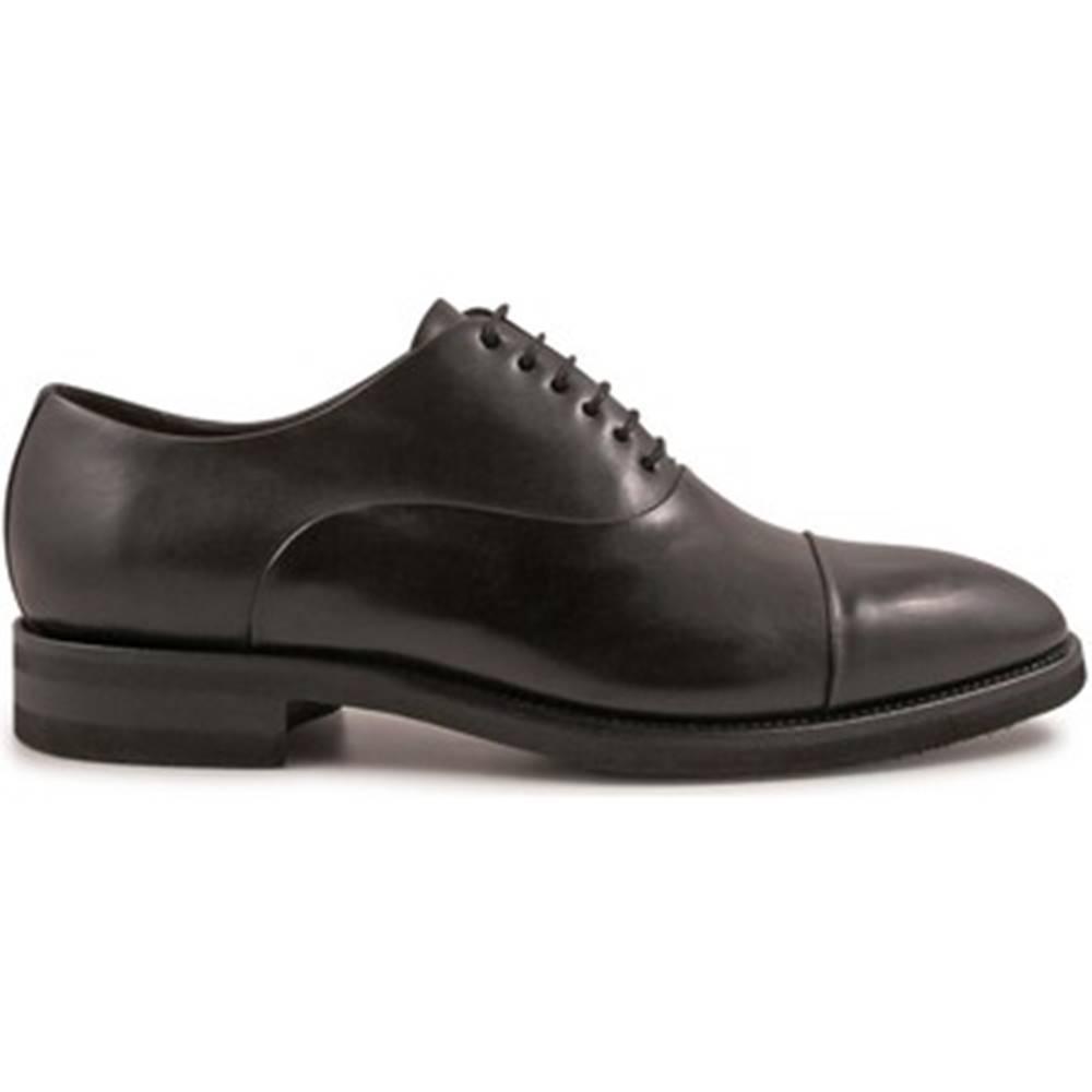 Leonardo Shoes Richelieu Leonardo Shoes  4683 MONTECARLO NERO