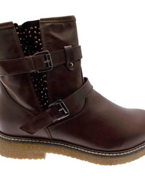 Hnedé topánky Calzaturificio Loren