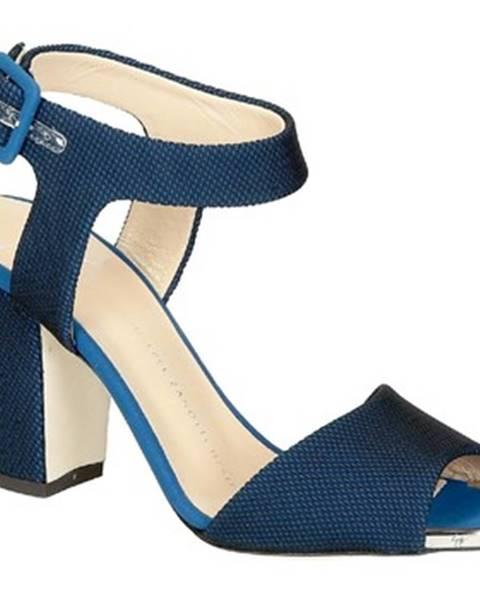 Modré topánky Giuseppe Zanotti