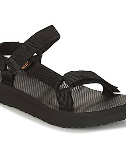 Čierne topánky Teva