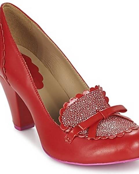 Červené topánky Cristofoli