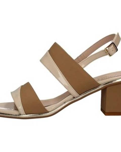 Hnedé topánky Le Mer
