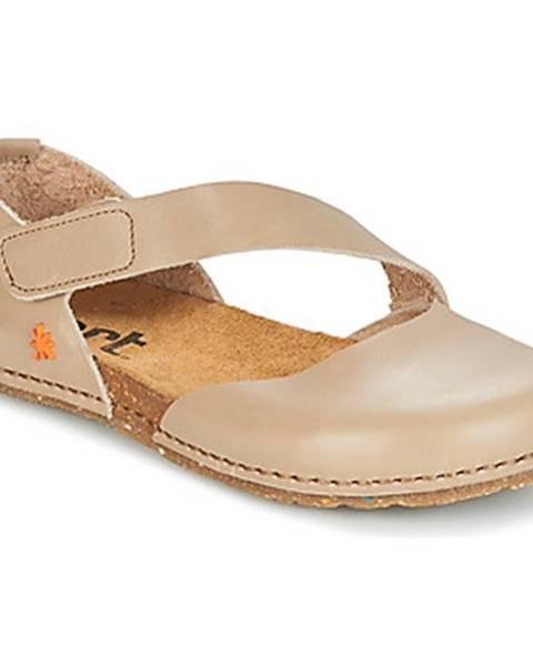 Béžové topánky Art