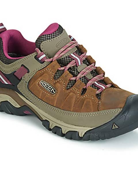 Hnedé topánky Keen
