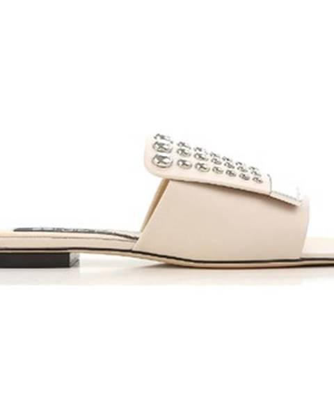 Béžové topánky Sergio Rossi