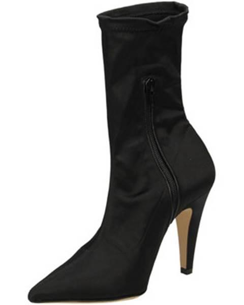 Čierne topánky Giampaolo Viozzi