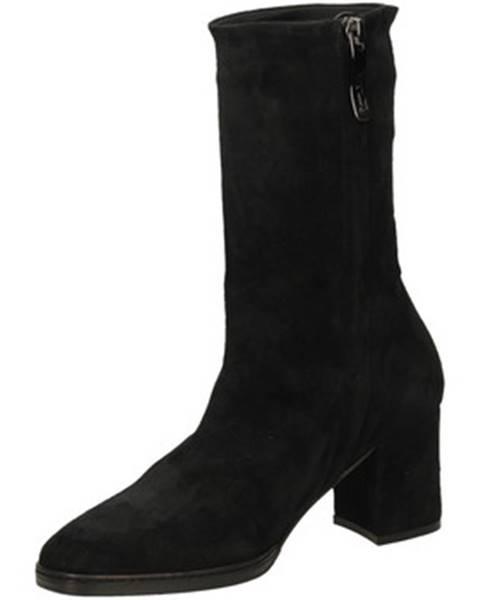 Čierne topánky Lorenzo Masiero