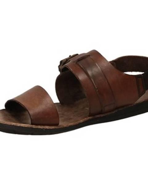 Hnedé sandále Brador
