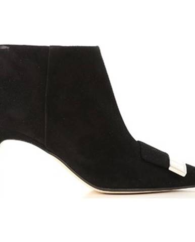 Čierne topánky Sergio Rossi