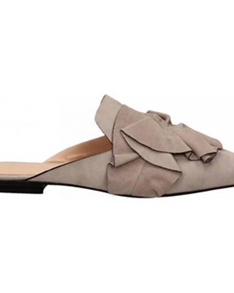 Fialové topánky Elvio Zanon