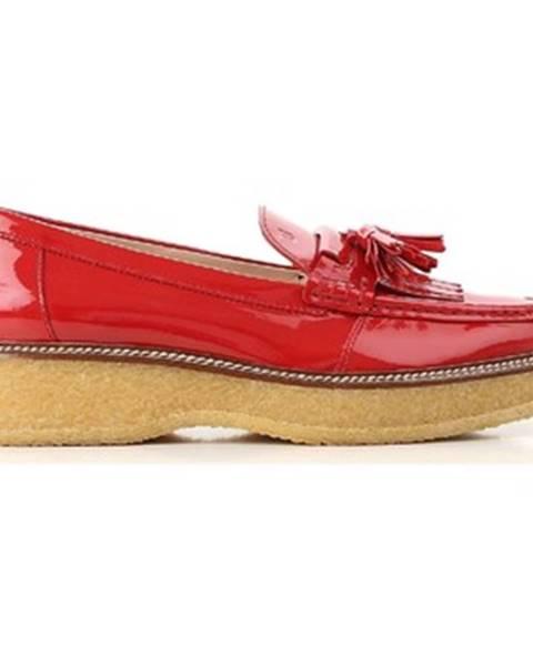 Červené topánky Tod's