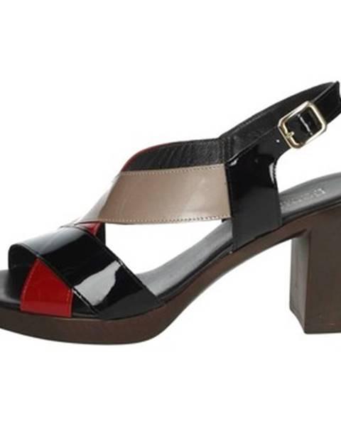 Čierne topánky Romagnoli