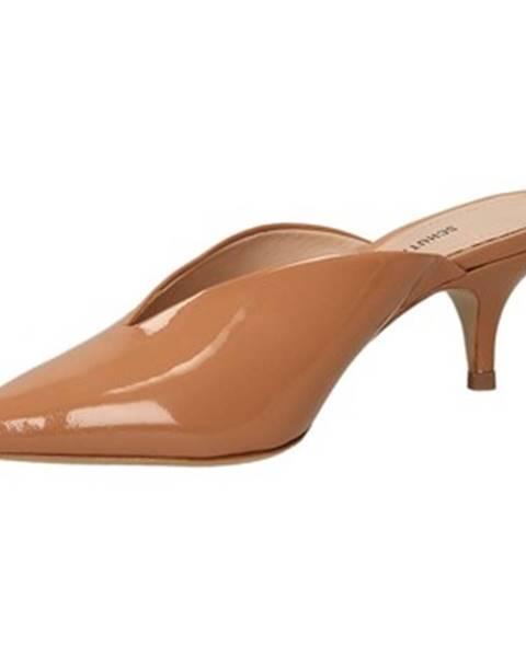 Hnedé topánky Schutz