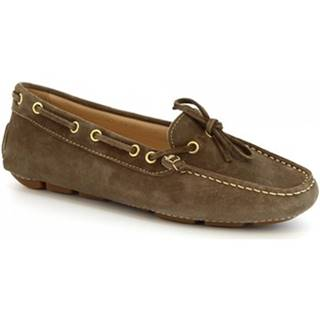 Balerínky/Babies Leonardo Shoes  7502 SOFTY FTY FERRARI TORTORA