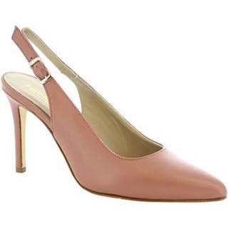 Lodičky Leonardo Shoes  306 NAPPA ANTICA