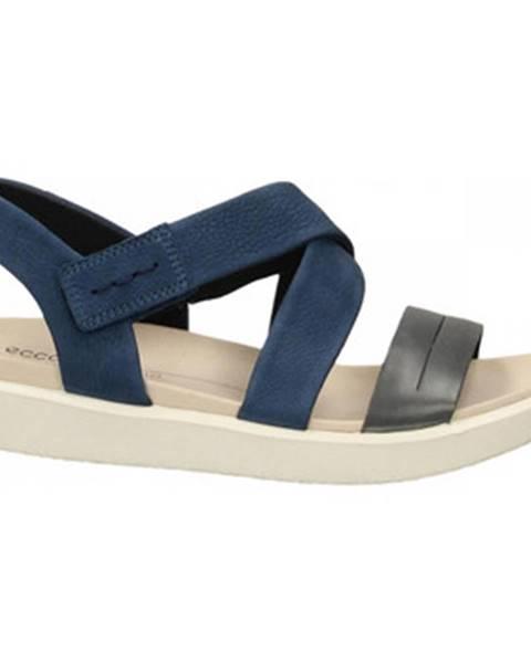 Modré topánky Ecco