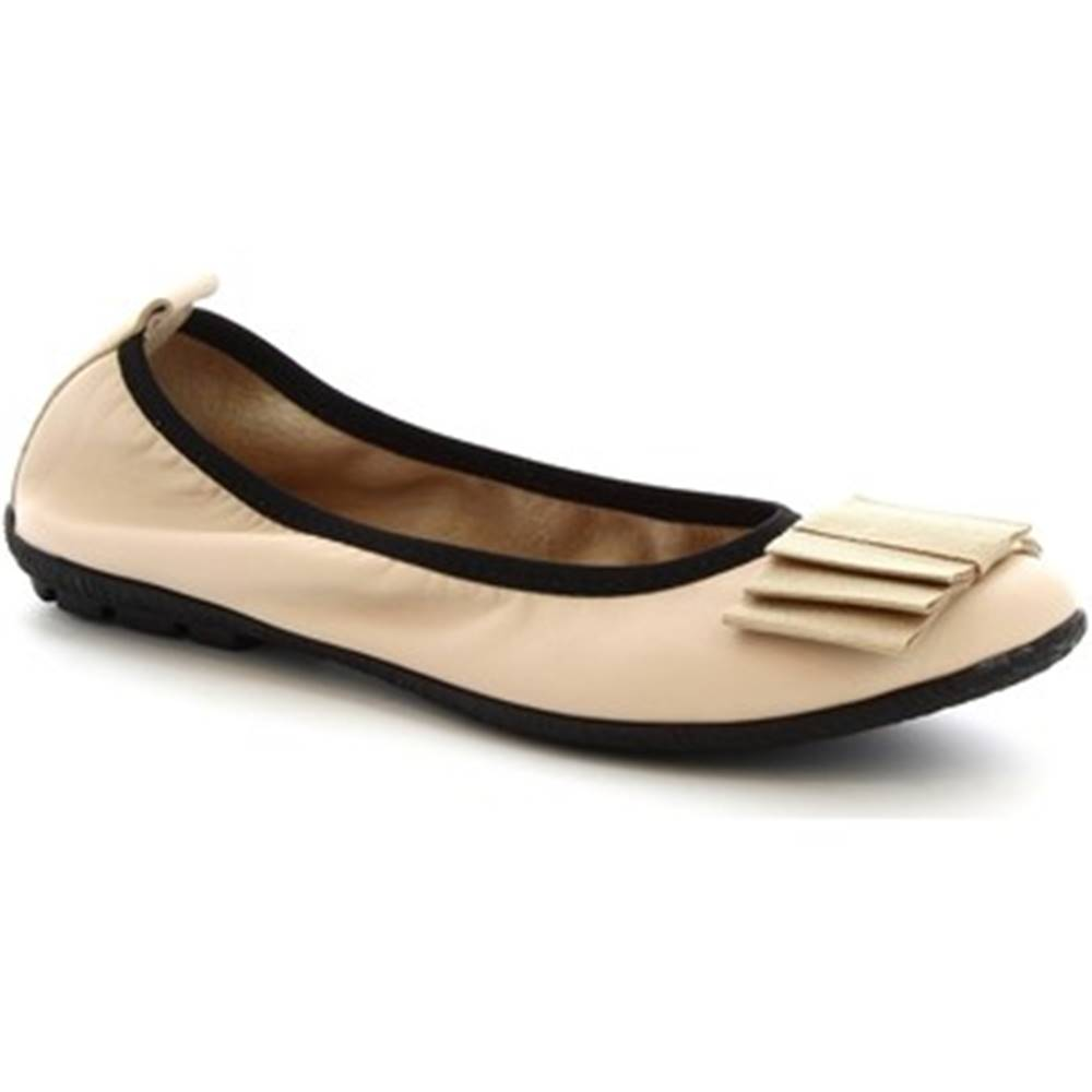 Leonardo Shoes Balerínky/Babies Leonardo Shoes  5618 G1/SOSIA NAPPA PENNA