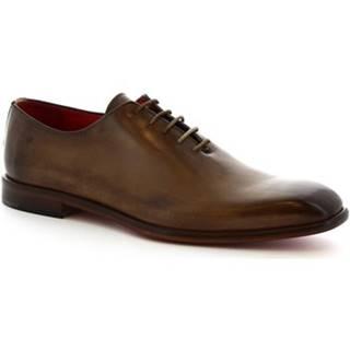 Derbie Leonardo Shoes  990 V.TAN