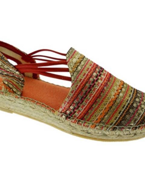 Červené topánky Toni Pons