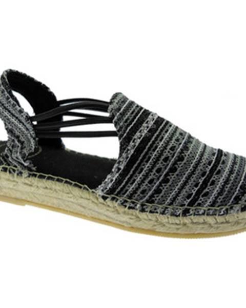 Čierne topánky Toni Pons