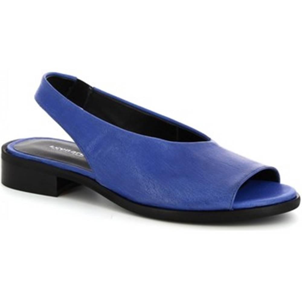 Leonardo Shoes Sandále Leonardo Shoes  4624 ROK JEANS