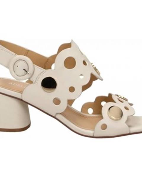 Biele topánky Adele Dezotti