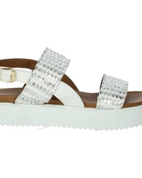 Biele topánky Donna Style
