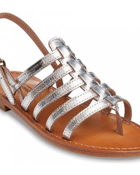 Strieborné topánky Les Tropéziennes par M Belarbi