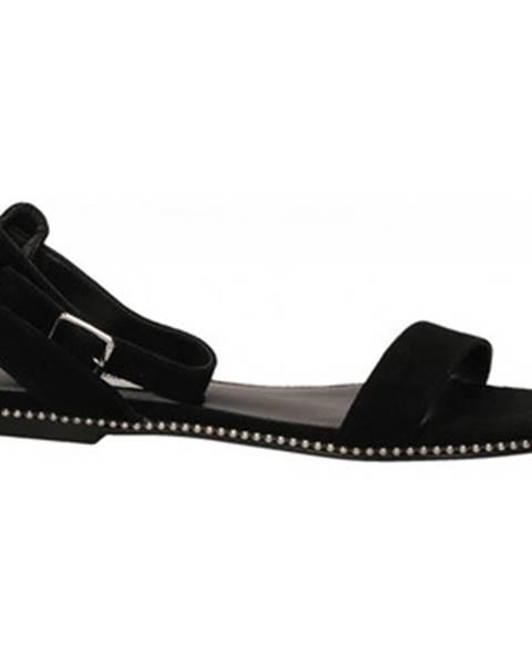 Čierne topánky Steve Madden