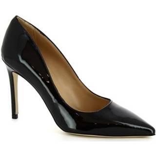Lodičky Leonardo Shoes  CINDY VERNICE NERO