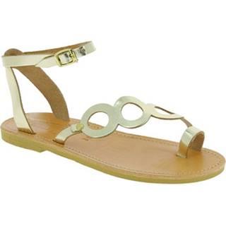 Sandále Attica Sandals  APHRODITE CALF GOLD