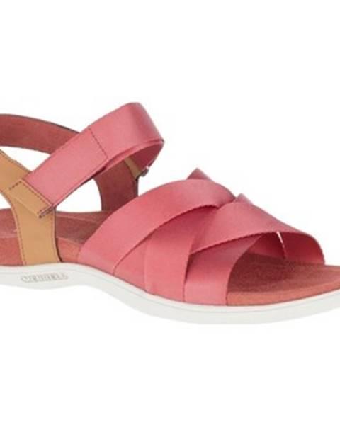 Červené topánky Merrell